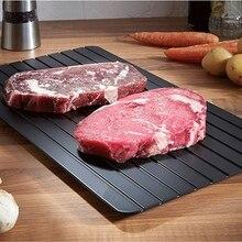 Сладкие лакомства Быстрый Лоток Для Оттаивания размораживания мяса или замороженных продуктов быстро без электричества микроволновой печи