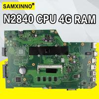 X751MA Com N2840/N2830 CPU 4GB RAM 90NB0610-R00150 REV2.0 mainboard Para For Asus X751MA X751M X751MD X751MJ laptop motherboard