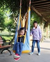 JY77 Outdoor Children Hammock Garden Furniture Swing Chair Indoor Hanging Seat Child Swing Seat Patio Portable