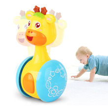 Baby Rattles Sliding Tumbler Doll kid Toys Sweet ringing music early Learning Education Toy Gifts Bell hands /legs exercise fun