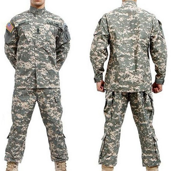 NEW Outdoor military training BDU ACU Camouflage suit sets Army Military uniform combat Airsoft uniform -Only jacket & pants