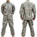 NOVO Ao Ar Livre treinamento militar BDU ACU Camuflagem terno define Militar Do Exército uniforme de combate Airsoft uniforme-Apenas jacket & pants
