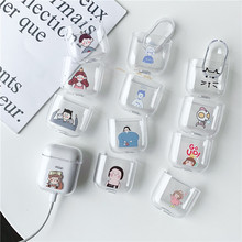 Fashion Cartoon Characters For airpods case Bluetooth Wireless Headphone Case 1/2 Hard Charging Protection Bag