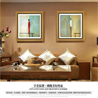 Hand Painted Modern Oil Painting Abstract Painting No Frame Landscape Pictures On Canvas Wall Art For