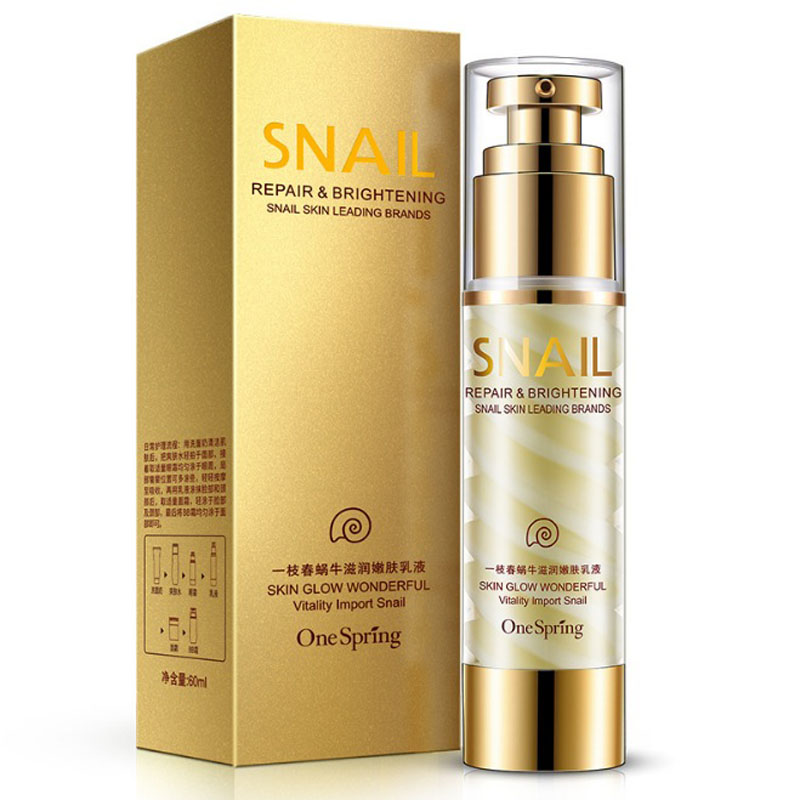 New Snail Cream Anti aging Face Cream Essence Emusion Skin Care Acne Treatment Ageless Moisturizing Whitening Face Anti Wrinkle cedar tree anti aging moisturizing face cream sets ageless skin care whitening black head anti wrinkle firming lift beuaty 4pcs