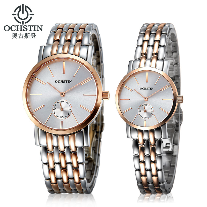Swiss Authentic Men's Watch Small Three-Pin Waterproof Casual Fashion Couple Watches Men And Women Models Trend Free Shipping