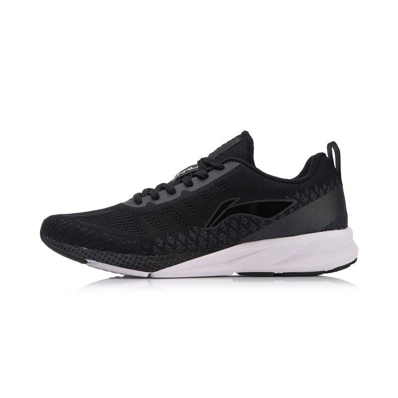 Li-ning hommes couleur ZONE coussin chaussures de course respirant Mono fil doublure poids léger chaussures de Sport baskets ARHN101 XYP720 - 4