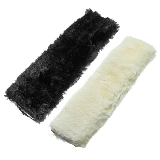 Новый автомобиль укладка шерсть плюшевая автокресло ремень безопасности чехол плеча шейный pad подушка для ребенка или взрослого