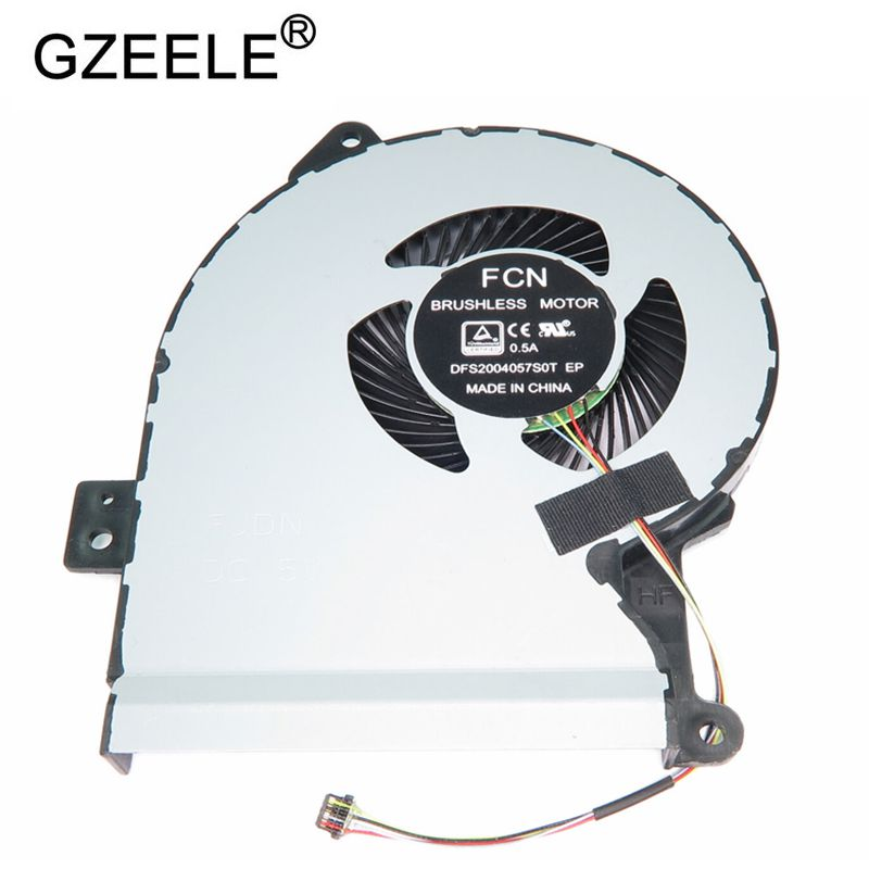 GZEELE NEW Laptop Cooling Fan For Asus VivoBook Max A541 A541U A541SA A541UA Laptop Cpu Cooling Fan GZEELE NEW Laptop Cooling Fan For Asus VivoBook Max A541 A541U A541SA A541UA Laptop Cpu Cooling Fan