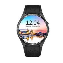 Kw88 3g wifi smartwatch teléfono celular todo-en-uno bluetooth smart watch android 5.1 tarjeta sim con gps mapa, cámara, monitor de ritmo cardíaco