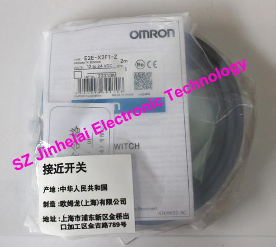 E2E-X2F1, E2E-X2F1-Z  New and original  OMRON  Proximity switch  12-24VDC  2M [zob] new original omron shanghai omron proximity switch e2e x18me1 2m 2pcs lot