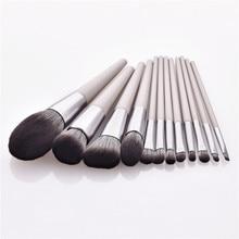 8/12pcs Makeup Brushes set Cosmetic Tools For Powder Foundation Blending Eyebrow Brush Facial Make Up Tools kit T12077 недорого