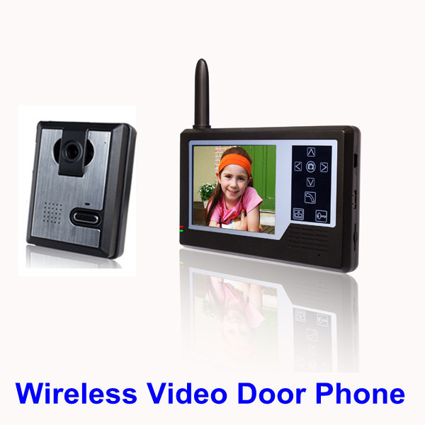 35 Inch Color Night Vision Camera Wireless Video Door Phone