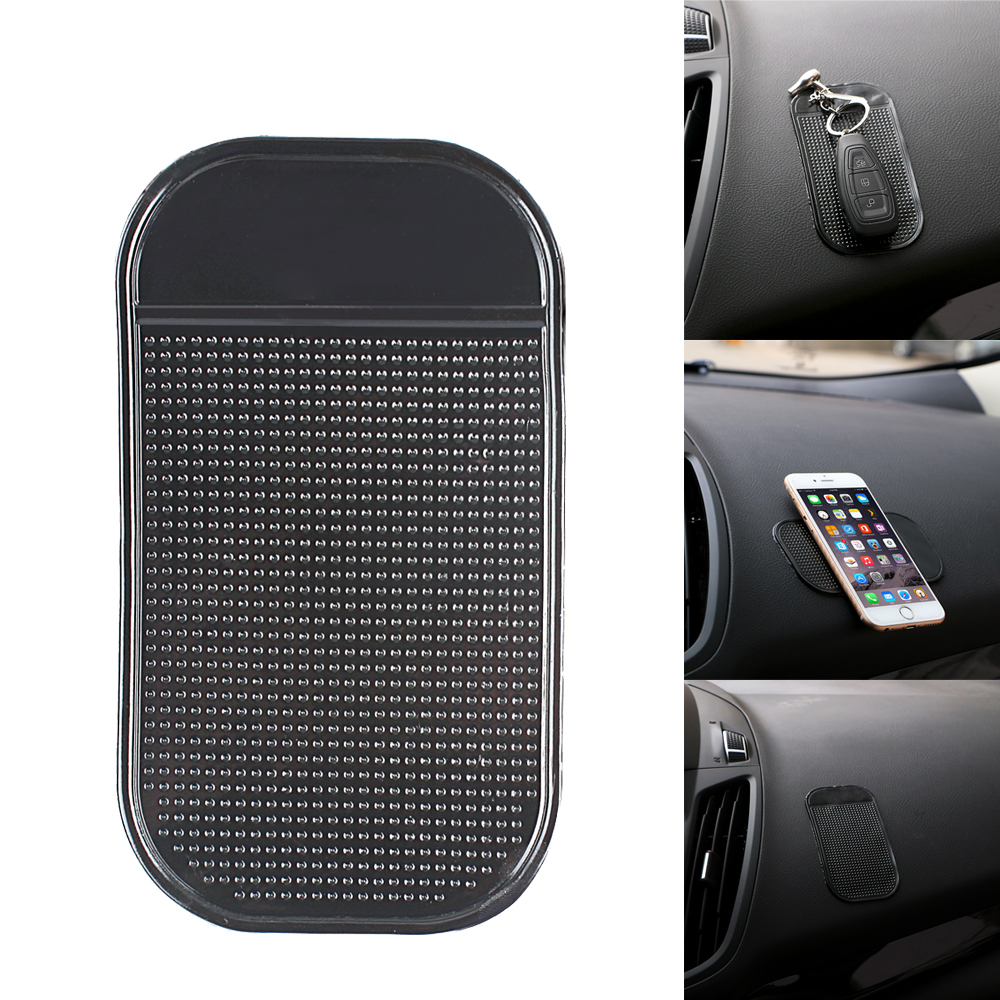 Portable Car Mat Magic Sticky Pad Silicone Antiskid Mat Non Slip Mat for Mobile Phone PDA mp3 mp4 Key Car Accessories