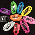 High Speed 8Pin USB Data Sync Charging Cable Cord for iPhone 7 6 6S Plus 5 5S SE Work with iOS10 Colorful 1m/2m/3Meter Lace Wire