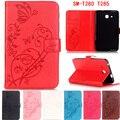 """Новая Мода высокого качества Резные ПУ кожаный чехол Для Samsung Galaxy Tab A6 7.0 T280 T285 7 """"таблетки смарт-чехол + pen"""