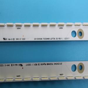 Image 2 - Tira Conduzida Luz de Fundo para Samsung UA40ES5500R 2012SVS40 7032NNB RIGHT56 LEFT56 3D BN96 21712A 21711ANew 2 pçs/set 56LED 500 milímetros