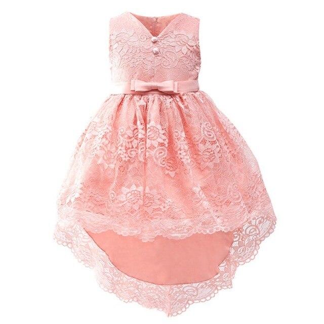 Baby Mädchen Kleidung Blume Kinder Mädchen Spitze Kleider Ballkleid ...