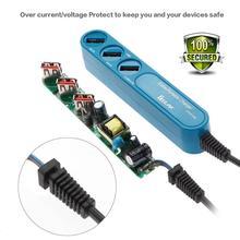 Go2link 3 Порт USB Зарядное устройство Перемещения Дома Стены AC Зарядное Устройство адаптер для samsung galaxy s7 iphone 6s iphone7 7 плюс сша ес Plug