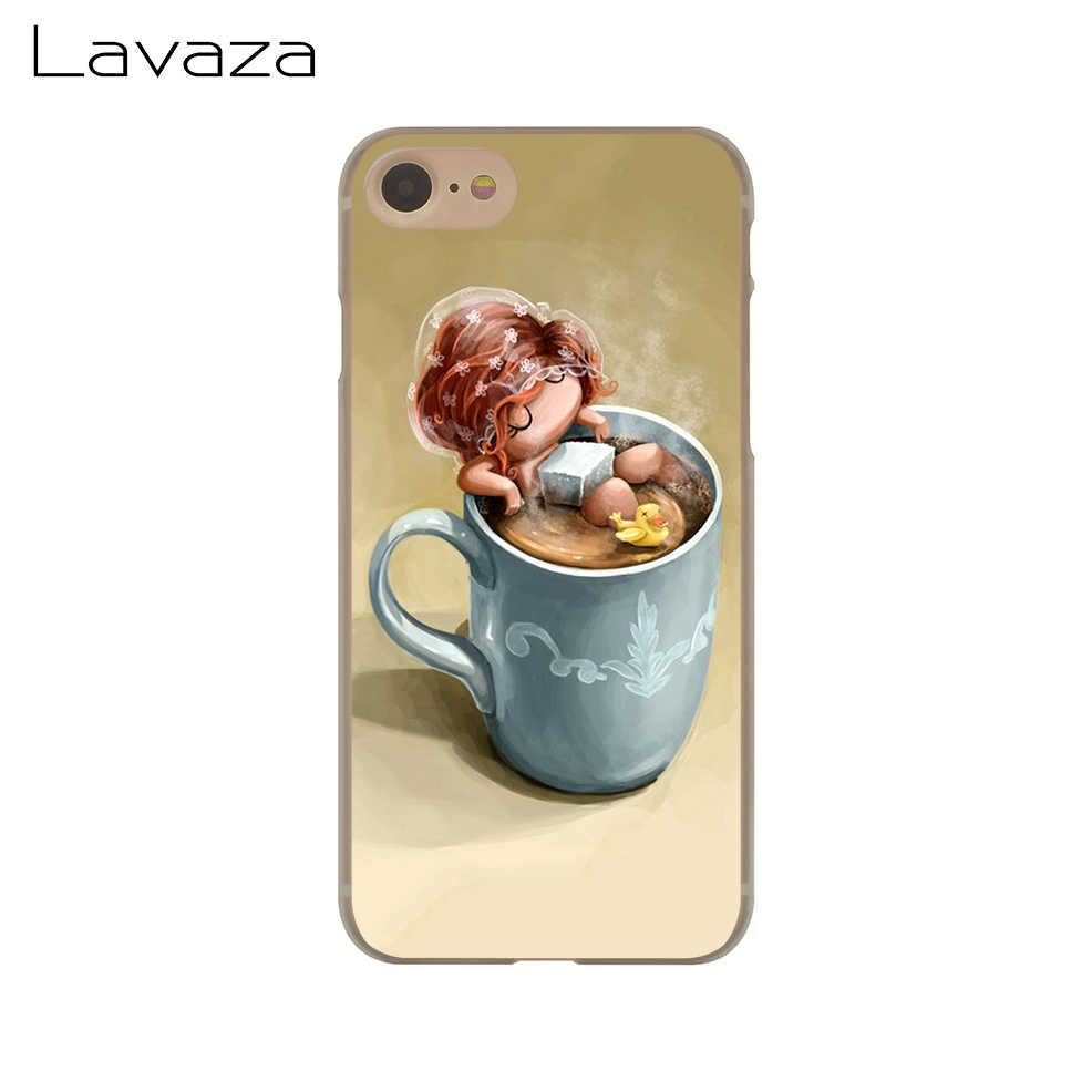Lavaza Coffee time Phone Case para Apple iPhone 4 4S 5C 5S SE 6 6 S 7 8 Plus 10 X Xr Xs Max 7 6 Plus Plus
