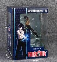 Nieuwe Collectie Comic Anime Gray Fullbuster Super Freeze Pijl Ijs Magic Battle Style Fairy Tail Grey 29 CM Beeldje Speelgoed Nieuwe doos