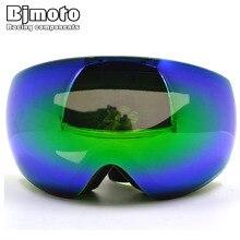 BJGLOBAL CGR Brand 6 Colors Ski Goggles Double Anti-fog Big Ski Mask Glasses Skiing Men Women Snow Snowboard Goggles