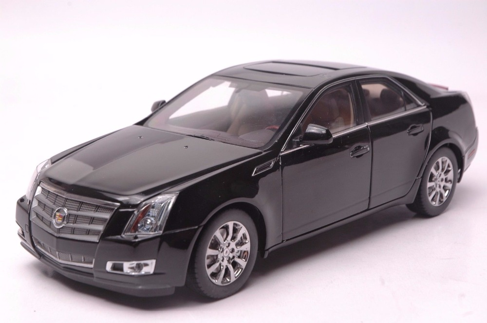 1 18 Diecast Model For Gm Cadillac Cts Black Sedan Defect Alloy