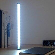 Rechargeable LED Touch Sensor Kitchen Cabinet Light Lamp DC 5V Wardrobe Closet Showcase Bookshelf White Lamp with SOS light
