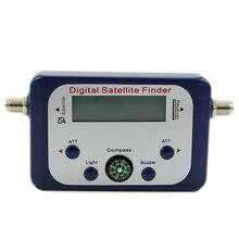 Numérique LCD Satellite Finder Sat Finder Signal Force Meter Ciel Plat Freesat Bleu