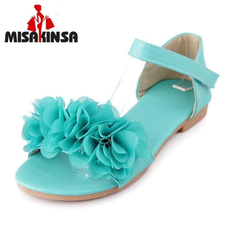 ᑐMISAKINSA Sandales Pour Femmes Bohême Perlé D été Fleur Dame Plat ... e4592b9579a3