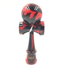 TWB marble paint kendama professional game wood with free bags   art kendama