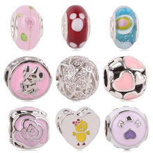 dodocharms New Rainbow MOM Micini Arrival Many Styles European Charms for Beads Pandora Bracelets Necklace DIY Accessories(China)