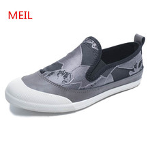 Men Canvas Shoes 2018 Fashion Vulcanized Casual Slip on Sneakers Loafers Zapatillas Hombre Zapatos Trainers