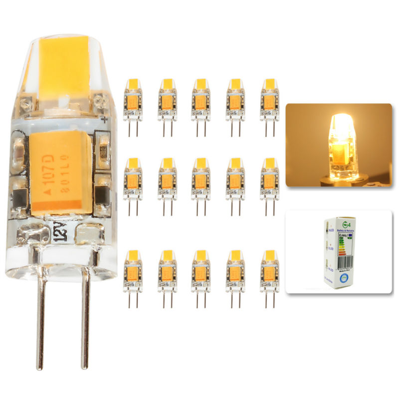 15Pcs/lot 2015 G4 AC DC 12V Led bulb Lamp SMD 3W Replace halogen lamp light 360 Beam Angle luz lampada led