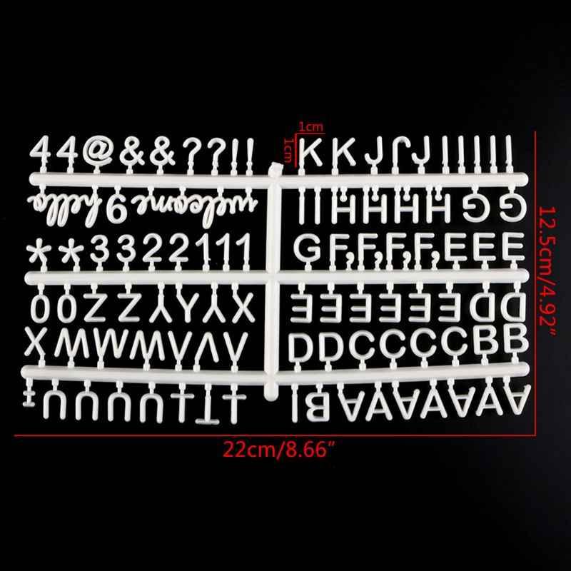 ตัวอักษรสำหรับ Felt Letter Board ใช้เป็นคลิปรูปถ่ายสำหรับกระดานจดหมายเปลี่ยนได้