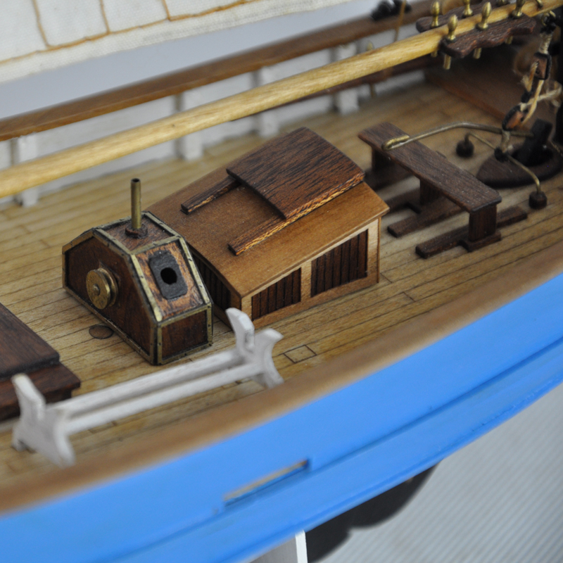 Wooden Ship Models Kits Diy Kids Toy Scale 1/50 Model Boats Wood 3d ...