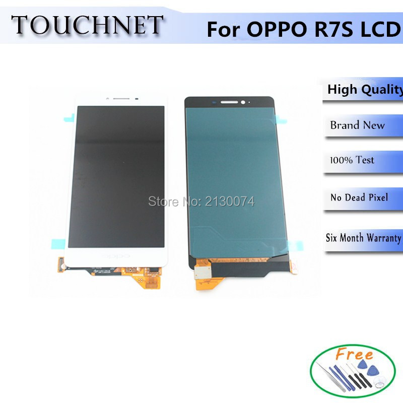 ФОТО Free Shipping High Quality LCD Screen Display Without Frame For OPPO R7S Cellphone
