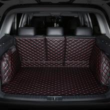 Spezielle kofferraum-matten für Nissan Alle Modelle Qashqai Hinweis Murano März Teana Tiida Almera X-trai auto zubehör styling