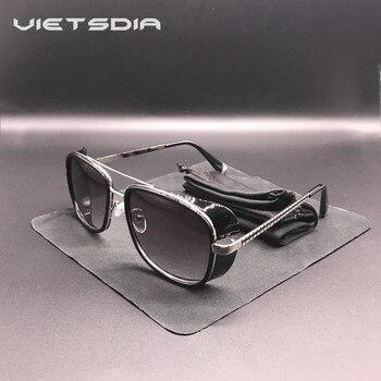 1267f56ab6 TONY stark Gafas de sol Hombre de Hierro 3 Matsuda Rossi recubrimiento  retro Vintage de diseñador Gafas de sol Masculino Gafas de Gafas UV400