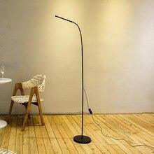 Современный светодиодный напольный светильник с затемнением, тонизирующий 72 светодиодный s USB Гибкий стоячий светильник для чтения с гибкой полосой для офиса и спальни