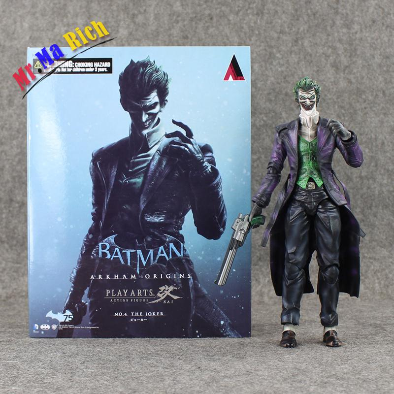 26 Cm Gioca Arts Kai Batman le Joker Origini Action Pvc figurine Da Collezione Giocattoli Di Modello Con26 Cm Gioca Arts Kai Batman le Joker Origini Action Pvc figurine Da Collezione Giocattoli Di Modello Con