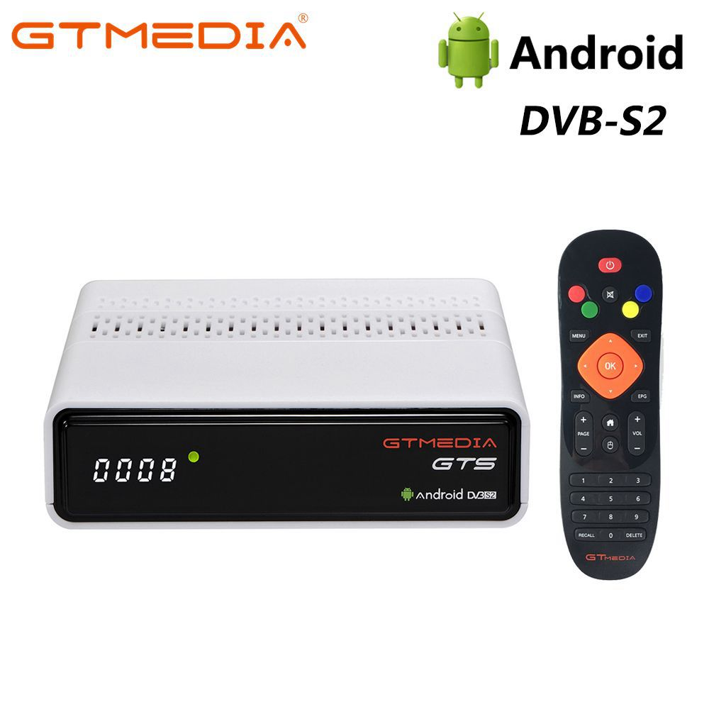Original Global GTS GTmedia 4K HDR Caixa de TV Android 6.0 TV Ultra HD 2G 8G WIFI Google fundido 4 Netflix IPTV Set top Box Media Player