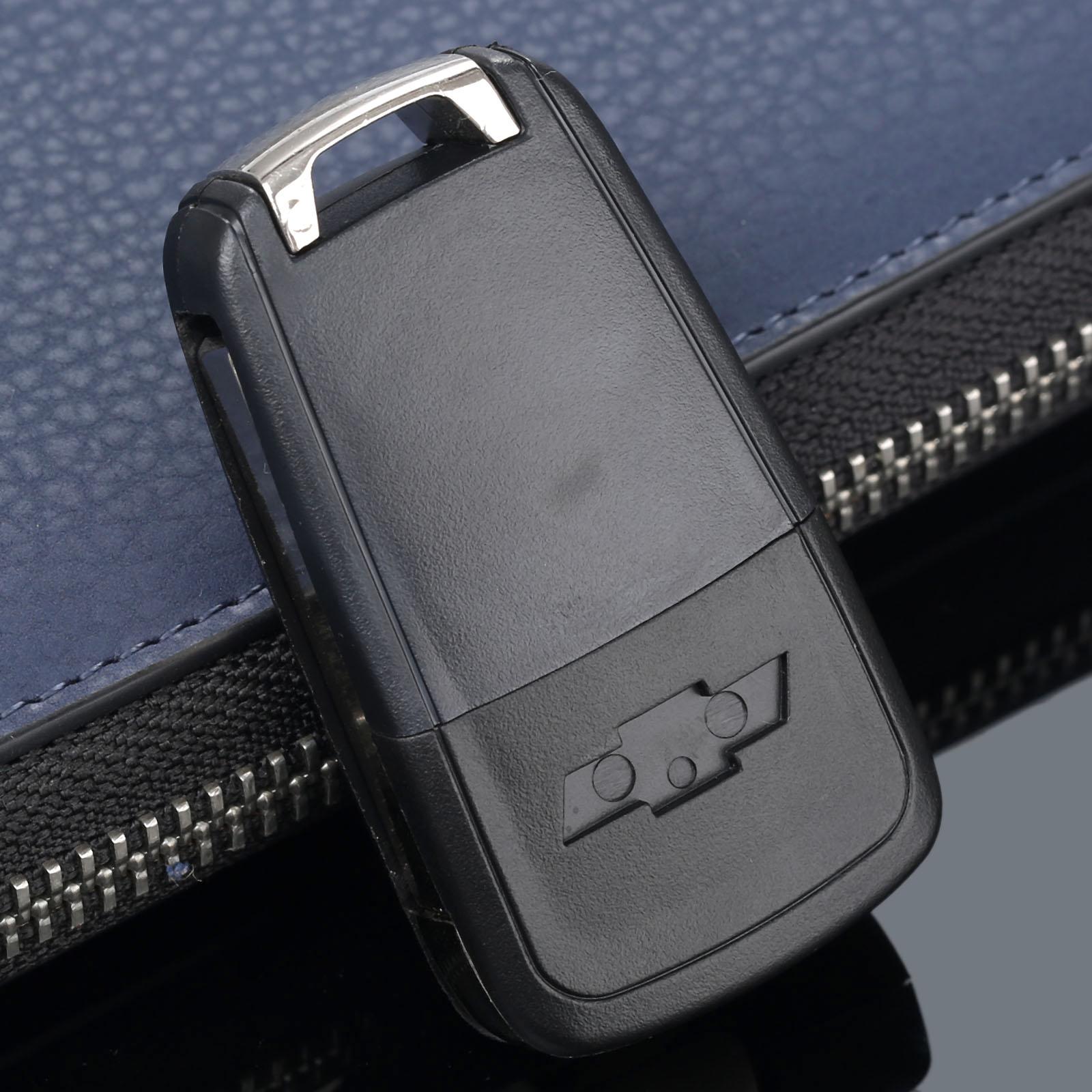 Image 3 - 2 кнопки дистанционного Складной флип чехол Fob крышка автомобиля заготовка для ключа зажигания подходит для Chevrolet Camaro Cruze Equinox Malibu Sonic Spark Volt-in Ключ авто from Автомобили и мотоциклы