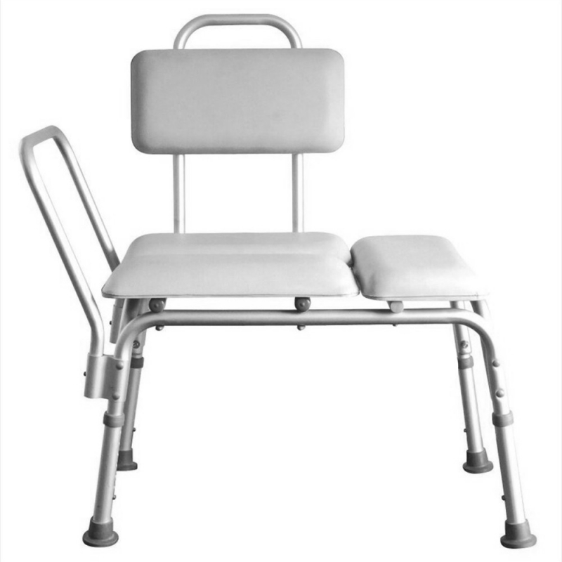 Shower Chair Height Adjustable Bath Tub Bench Stool Seat  3 Blow Molding Plates Aluminium Alloy Elderly Bath Chair-US stockShower Chair Height Adjustable Bath Tub Bench Stool Seat  3 Blow Molding Plates Aluminium Alloy Elderly Bath Chair-US stock