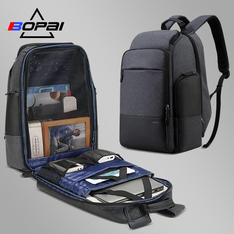 Unisex Zaini di Viaggio per Le Donne degli uomini di Casual Daypacks Anti Theft Borsa Da Viaggio di Affari Grande 17 pollice Del Computer Portatile Del Computer Zaino borse