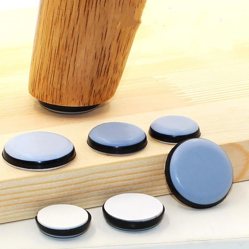 4-8pcs Furniture slider Pad Rubber Chair Leg Bases Table corner Feet Protector Door Close Buffer Bumper Stop Cushion Hardware