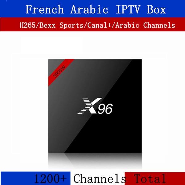 French IPTV box X96 Arabic French Belgium Neo tv IPTV 16G rom Android tv box android 7.1 4k IPTV Subscription Smart IP TV Box french iptv box android tv box with 1year 1300 arabic france iptv belgium code live tv