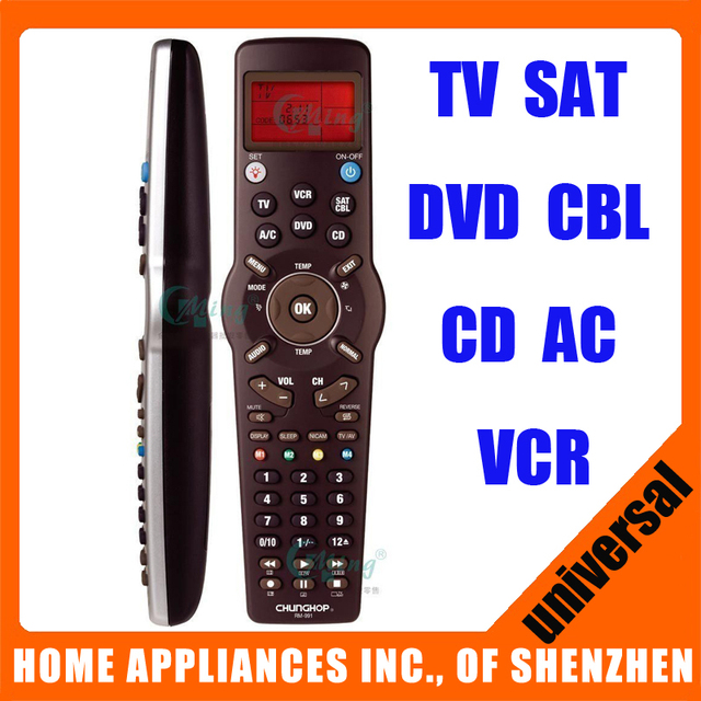 Universal remote control rm 991 for tv sat dvd cbl cd ac vcr universal remote control rm 991 for tv sat dvd cbl cd ac vcr learning for publicscrutiny Gallery