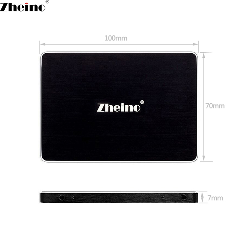 Zheino 2.5 inch SATA 120GB 128GB SSD (2D MLC/3D Nand) SATA3 Hard Disk Drive 7MM Internal Solid State Drive For PC Laptop Desktop