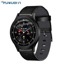 Купить с кэшбэком FUWUDIYI Fashion 1.3 inch Smart watch Round Screen Clock IP68 Waterproof Men Fitness Activity Tracker Bluetooth Women Smartwatch